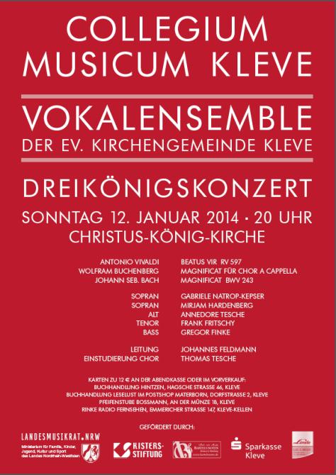 Dreikönigskonzert 2014